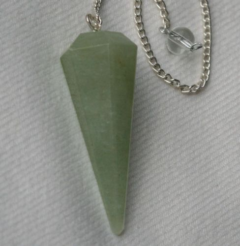 Adventurine Crystal Gemstone Dowsing Pendulum